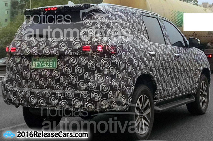 all new toyota hilux vigo and toyota fortuner spied in