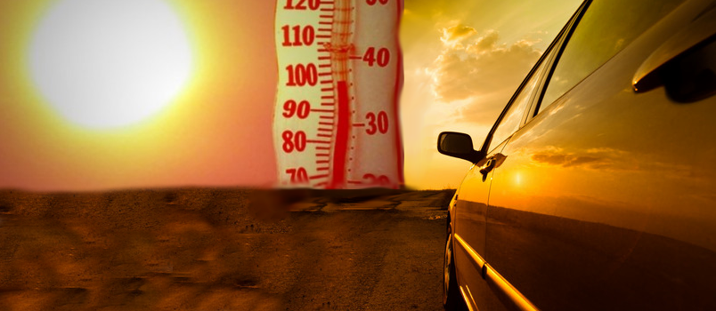cool down your car