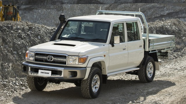 a brand new toyota land cruiser 70 series is expensive but worth it pakwheels blog. Black Bedroom Furniture Sets. Home Design Ideas