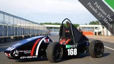 NUST formula car
