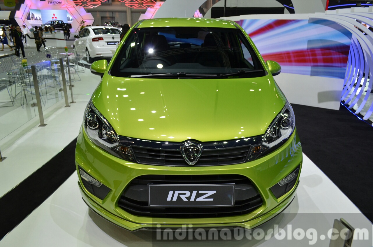 Proton-Iriz-front-at-the-2014-Thailand-International-Motor-Expo