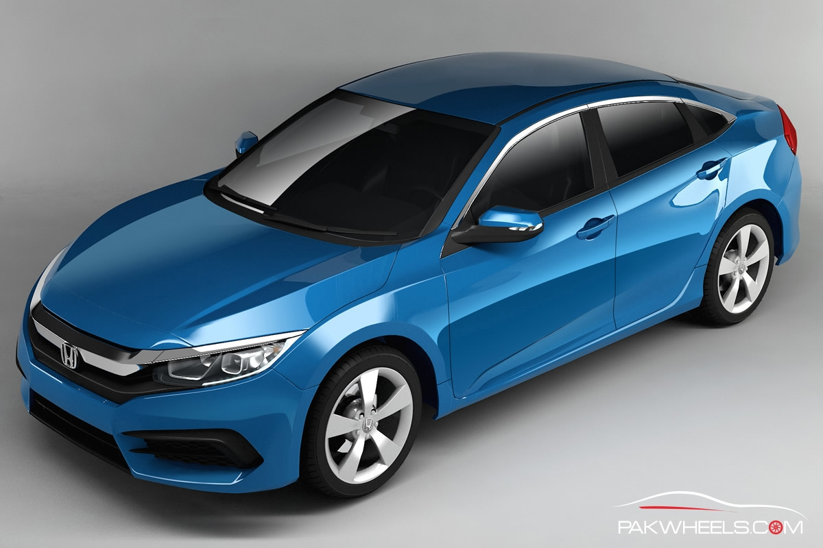 Honda Civic 10Th Gen >> New Renders Of 10th Generation Honda Civic Surfaces ...