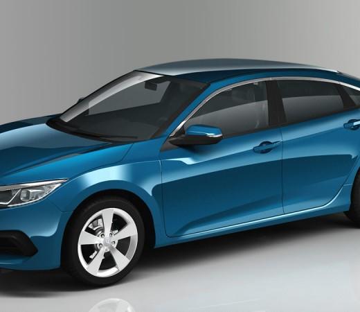 10th Generation Honda Civic Renders PakWheels (2)