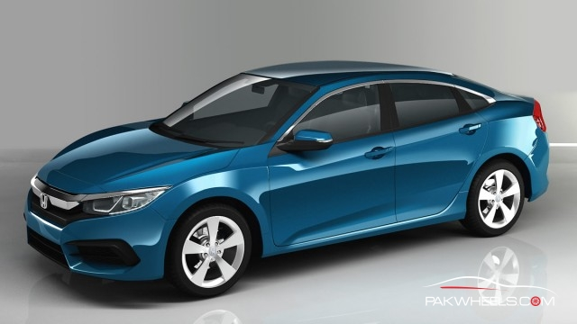 10th Generation Honda Civic Renders PakWheels (2)
