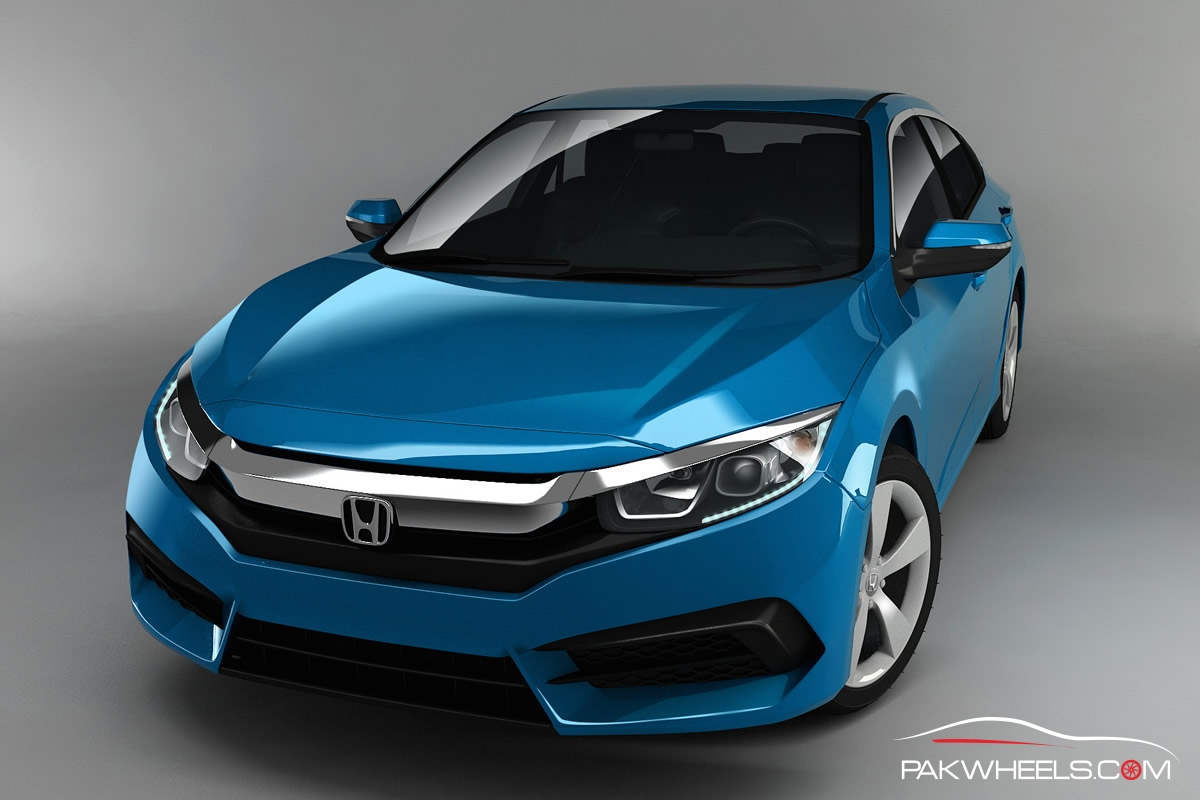 10th Generation Honda Civic Renders PakWheels (5)