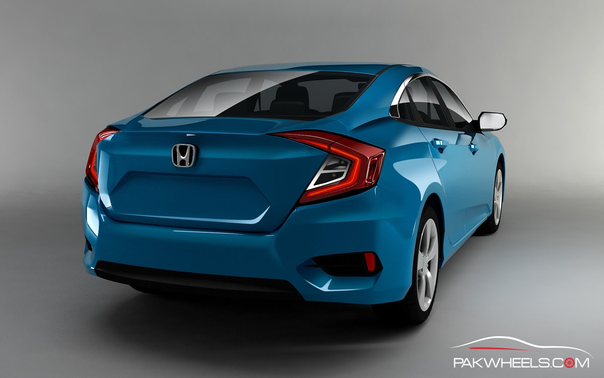 new renders of 10th generation honda civic surfaces pakwheels blog. Black Bedroom Furniture Sets. Home Design Ideas