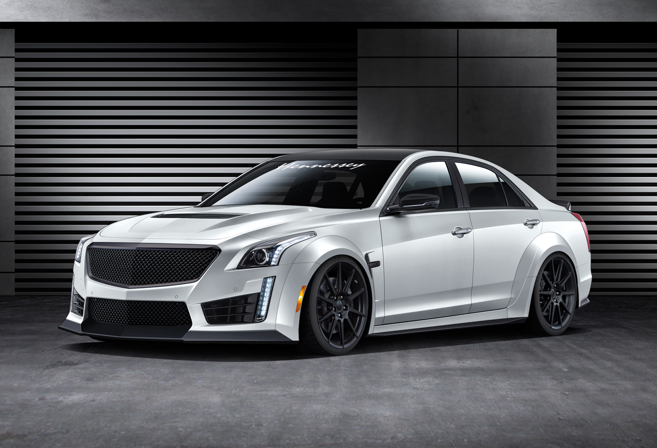 Used Cadillac Cts Coupe >> 2016 Hennessey CTS V Will Produce 1000HP To Become World's Fastest Sedan - PakWheels Blog