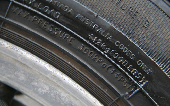 Tyre Sidewall Instructions