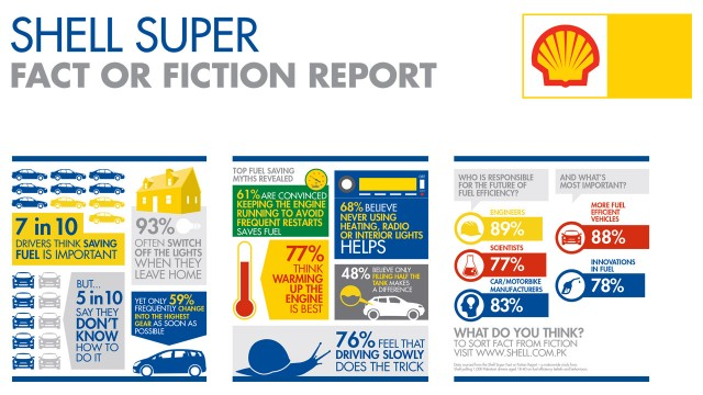 Sheel Fact or Fiction Research Survey - Infographics