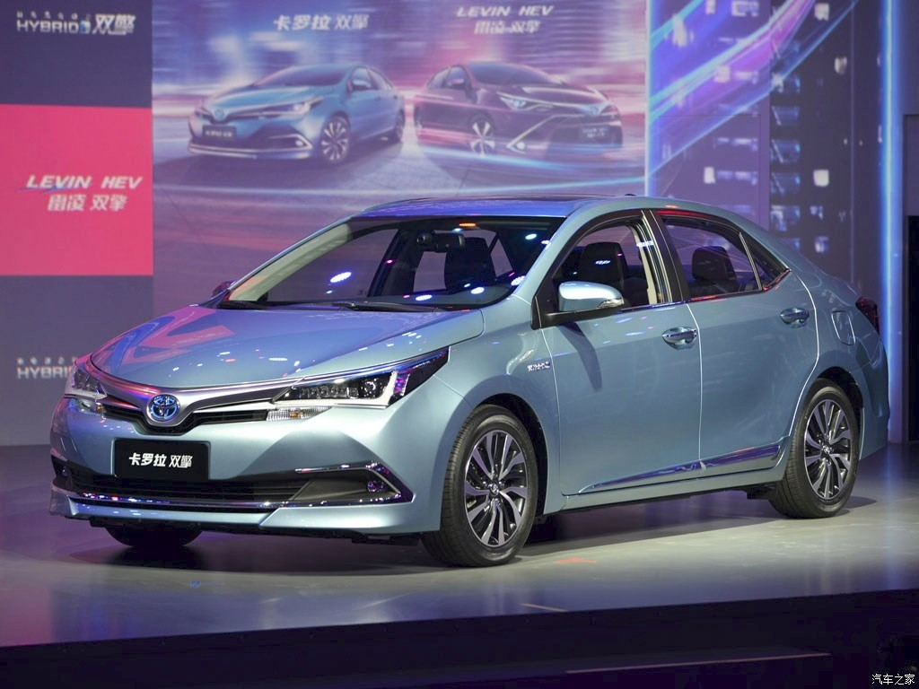 Toyota Unveils The Corolla Hybrid At The Shanghai Auto