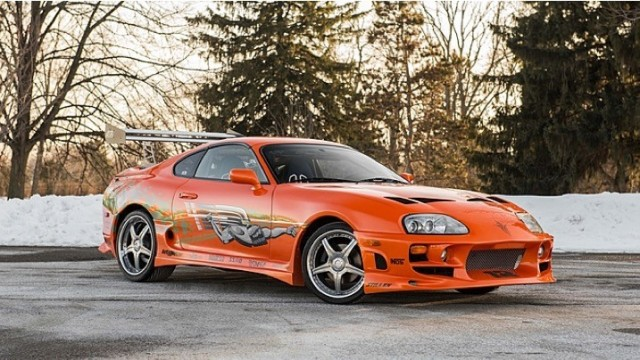 Fast And Furious Toyota Supra Stunt Car Will
