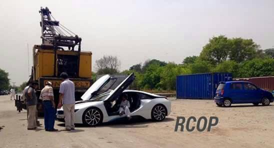 Bmw I8 Arrives In Pakistan
