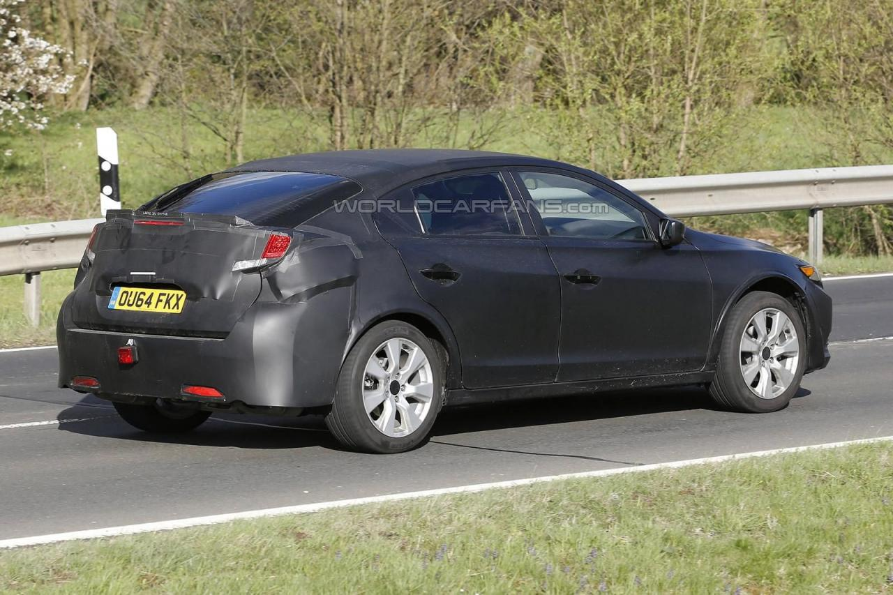 2016 Honda Civic Spy Shots (2)