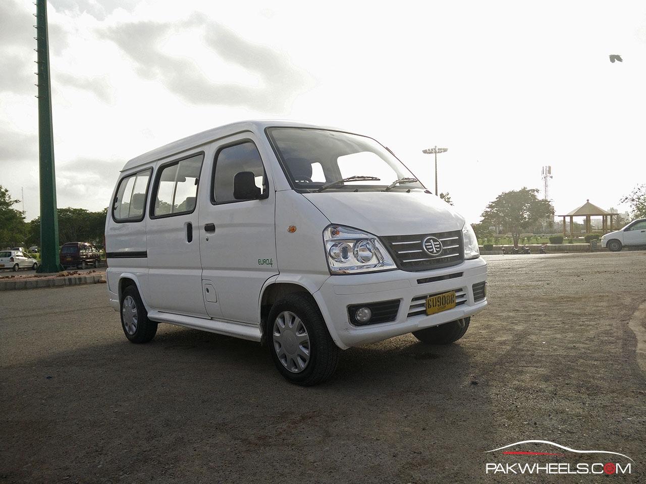 Suzuki Tire Size >> FAW X-PV Review: A Solid Contender To Suzuki Bolan - PakWheels Blog