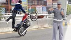 Lahore Traffic Police Wheeling