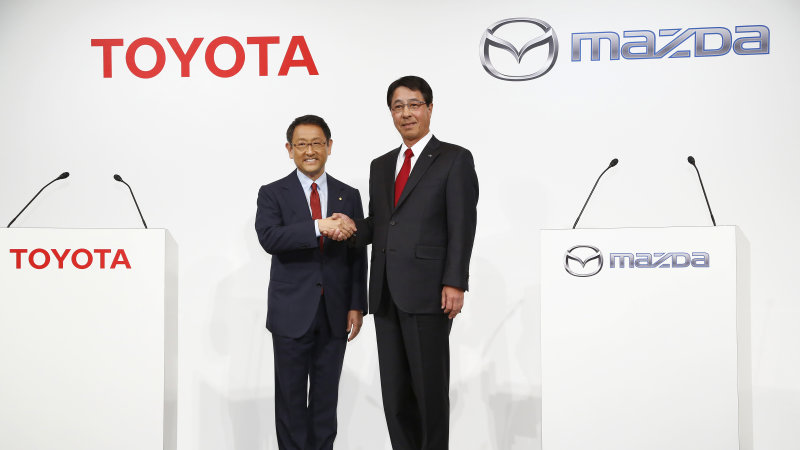 Mazda and Toyota