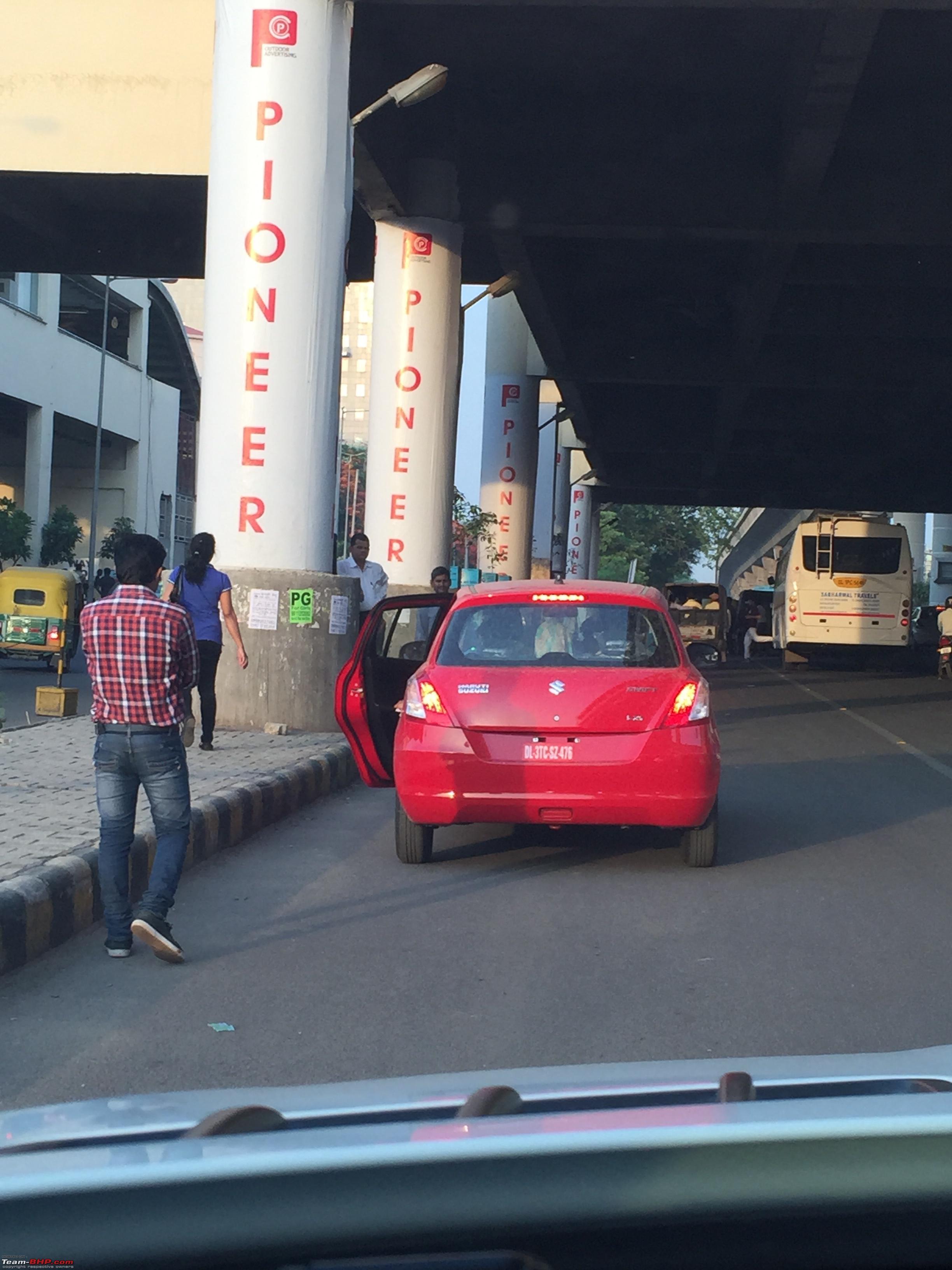 Suzuki Swift Used As Taxi (3)