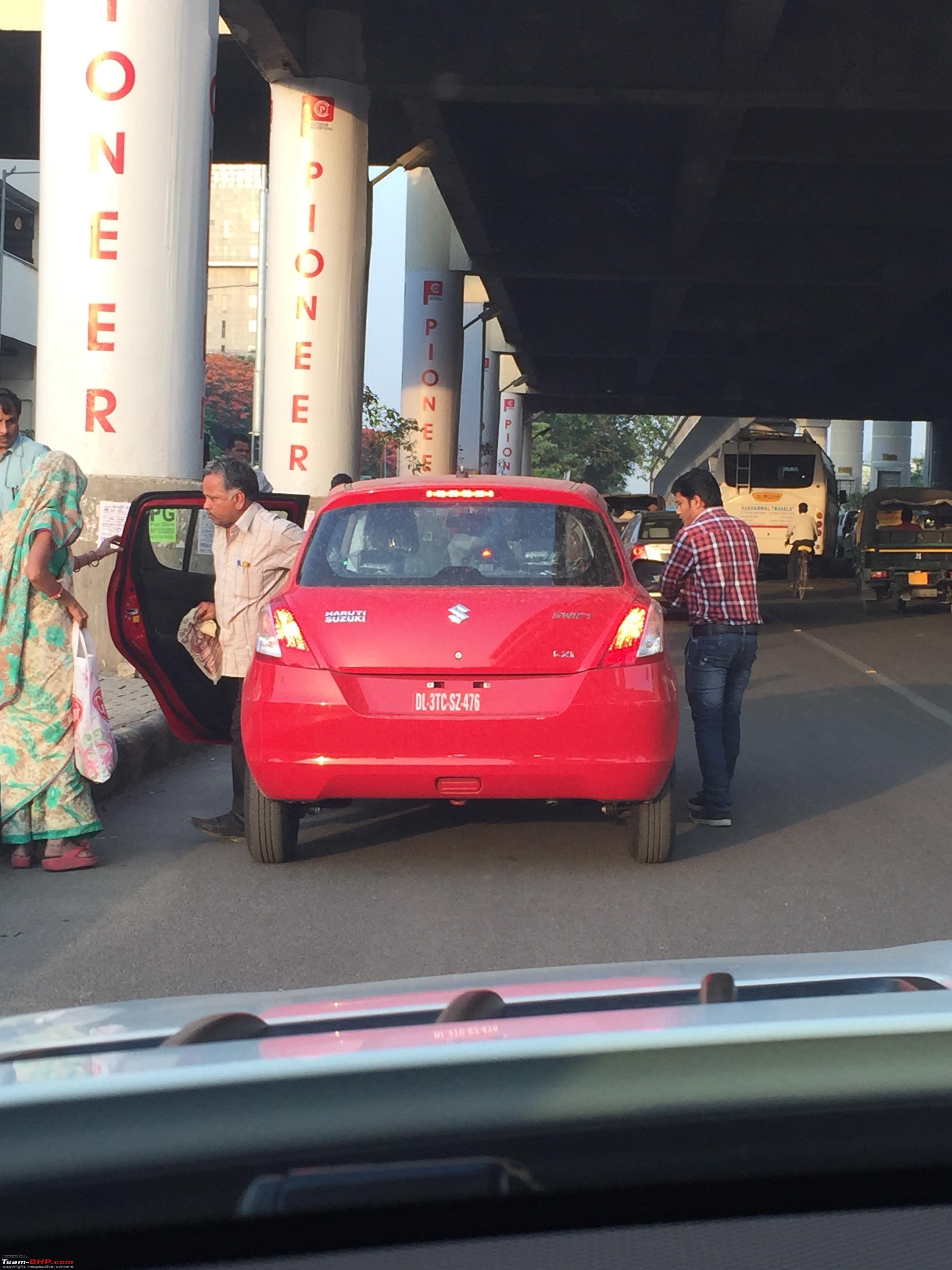 Suzuki Swift Used As Taxi (5)