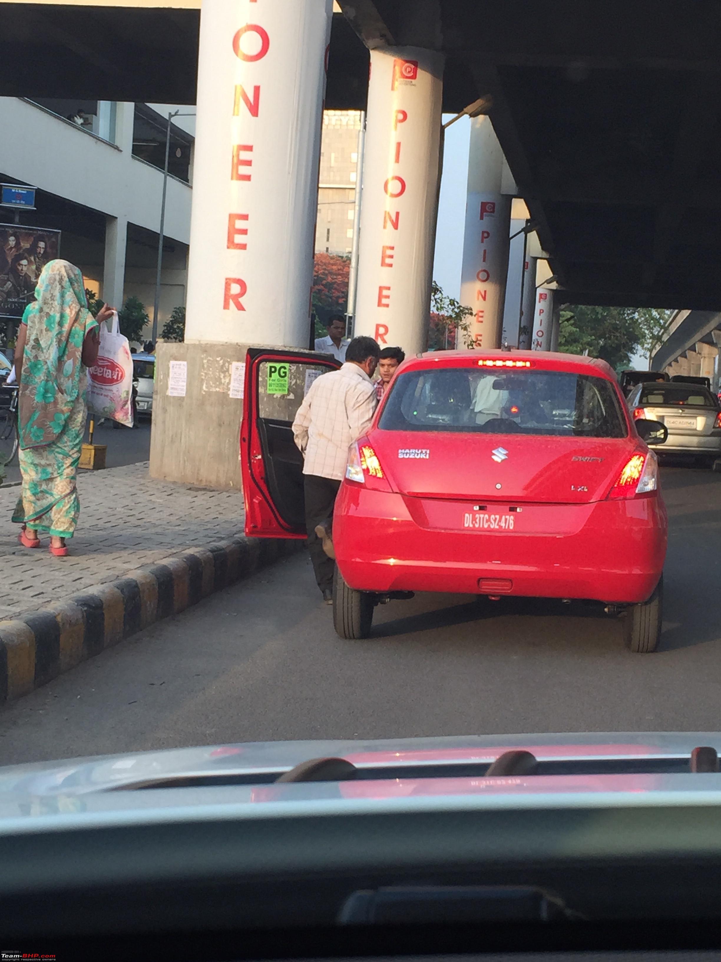 Suzuki Swift Used As Taxi (6)