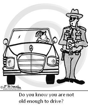 Underage drivers