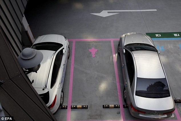 women's parking spaces