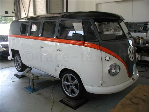 This Volkswagen Microbus Powered By 523hp Porsche Engine