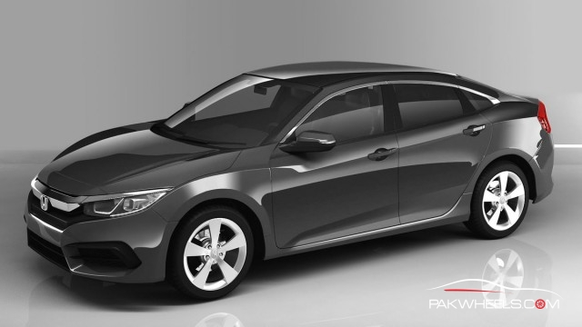 honda pakistan will launch the 2016 civic at the same price as current civic pakwheels blog. Black Bedroom Furniture Sets. Home Design Ideas