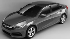 2016 Honda Civic Charcoal Gray