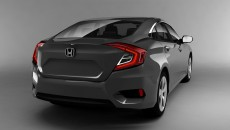 2016 Honda Civic Charcoal Gray 3