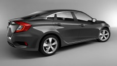 2016 Honda Civic Charcoal Gray 6