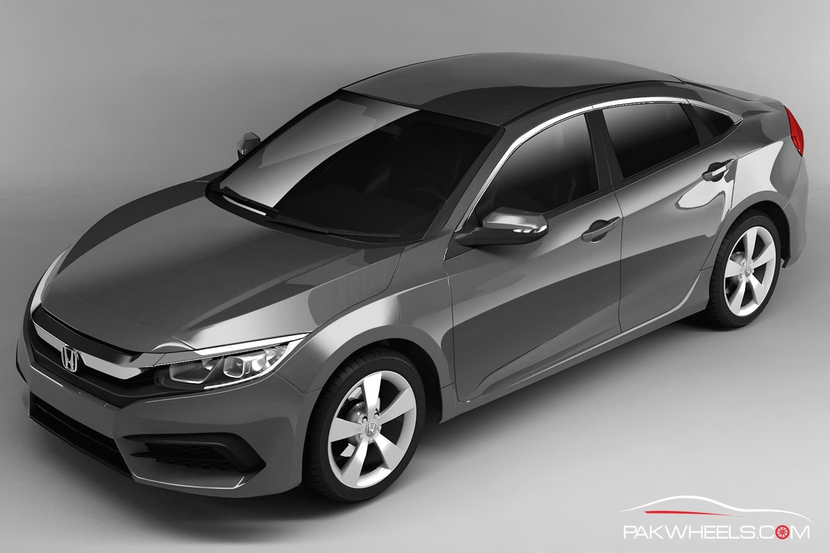 2016 honda civic will be unveiled on september 16