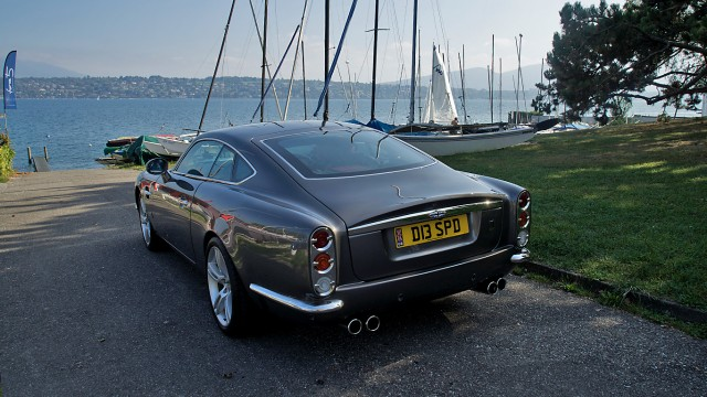 David Brown Speedback GT rear 2