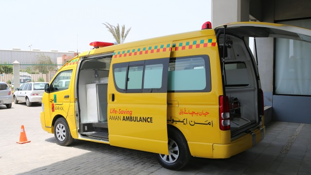 Aman Foundation Ambulance  (2)