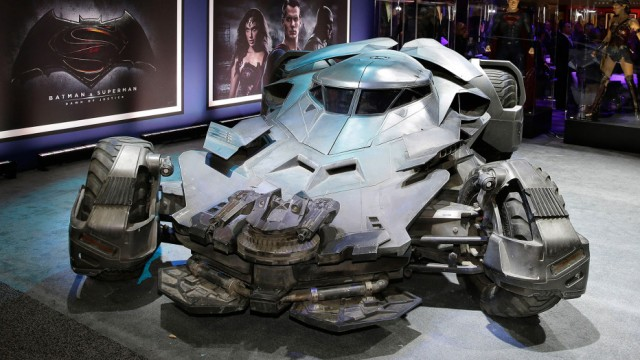 Warner Bros. Consumer Products Exclusively Unveils the Batmobile