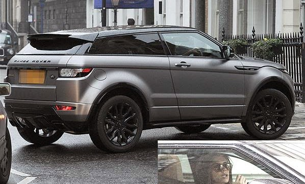 Range Rover Evoque (which was actually designed by his wife victoria)
