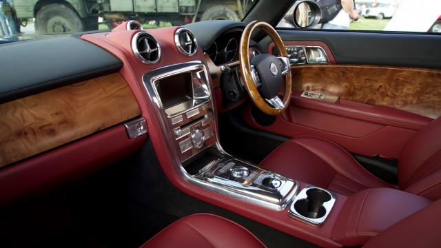 David Brown Speedback GT interior