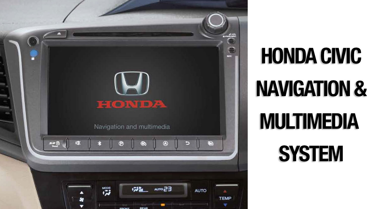 solution  faulty honda civic navigation multimedia system   pakwheels blog