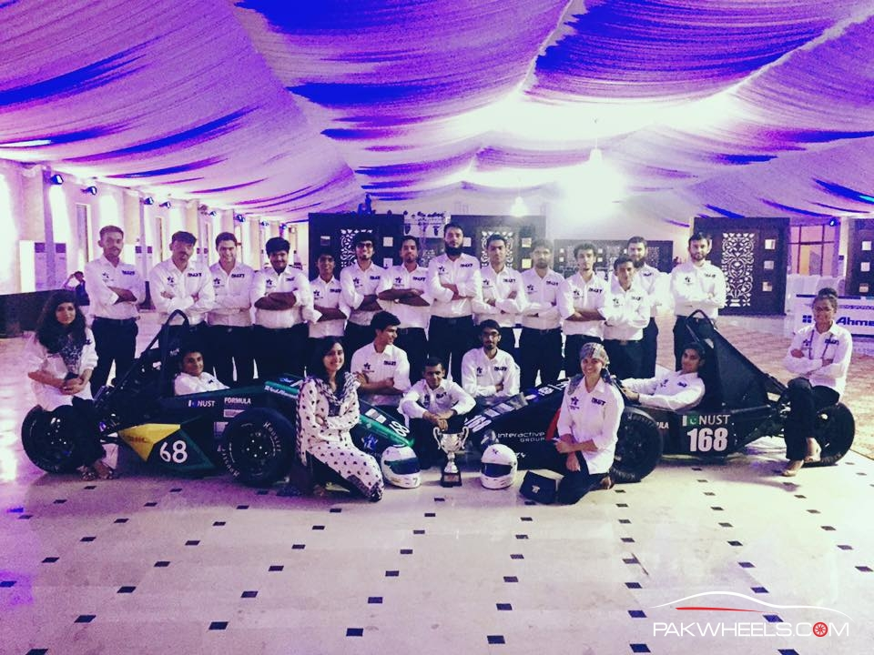 NAS15 Student Formula Car Group Members