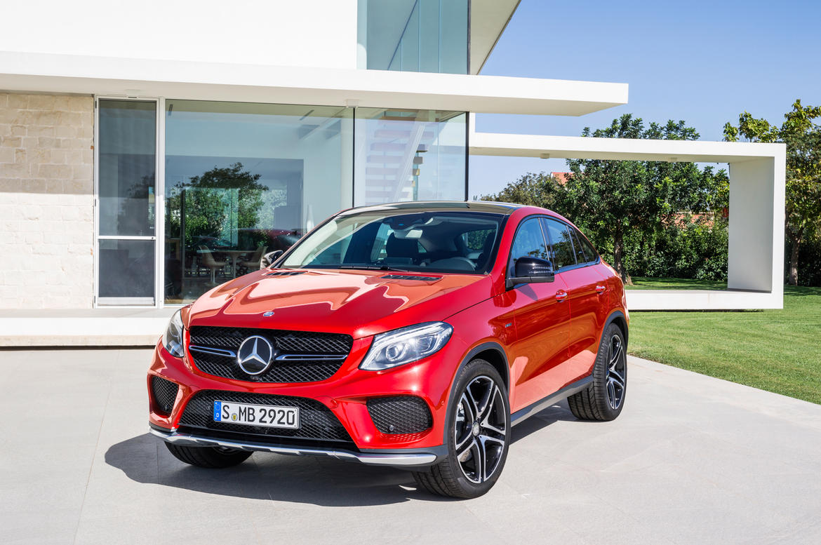 2016 Mercedes-Benz GLE Coupé