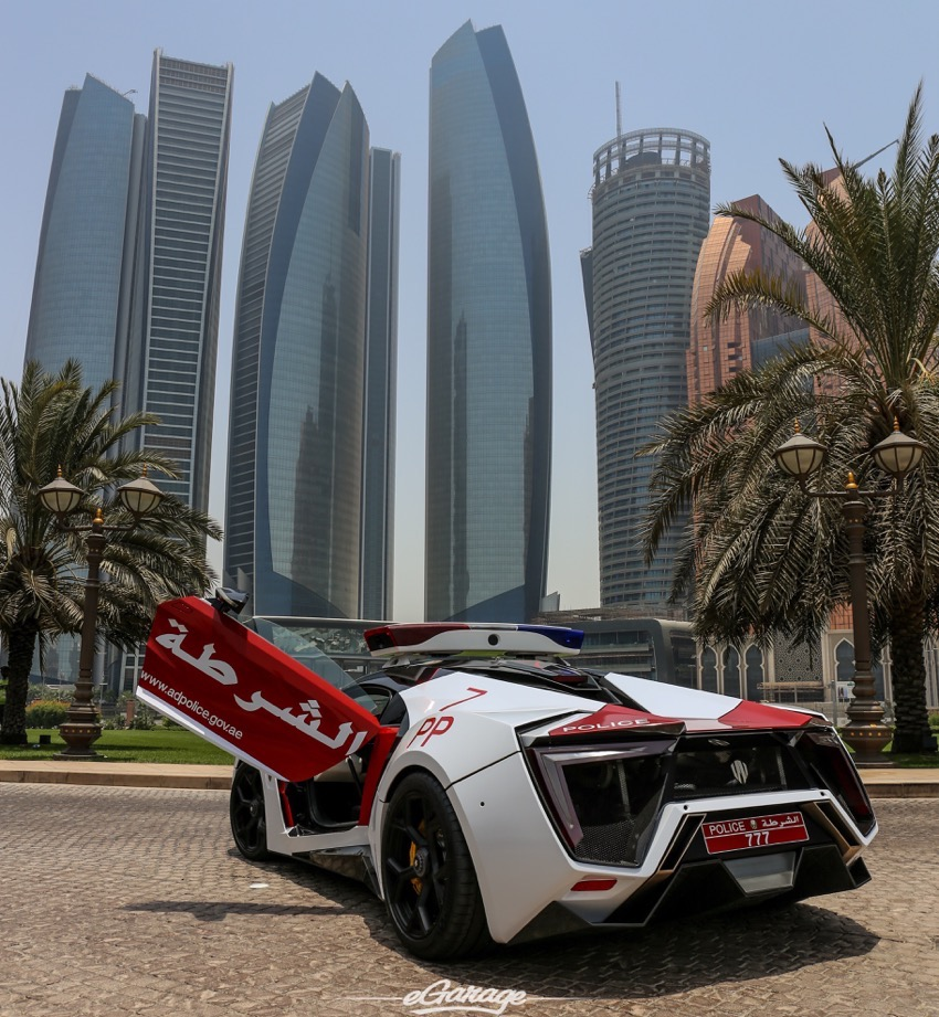 Abu Dhabi Police Gets The Flying Car From Furious 7