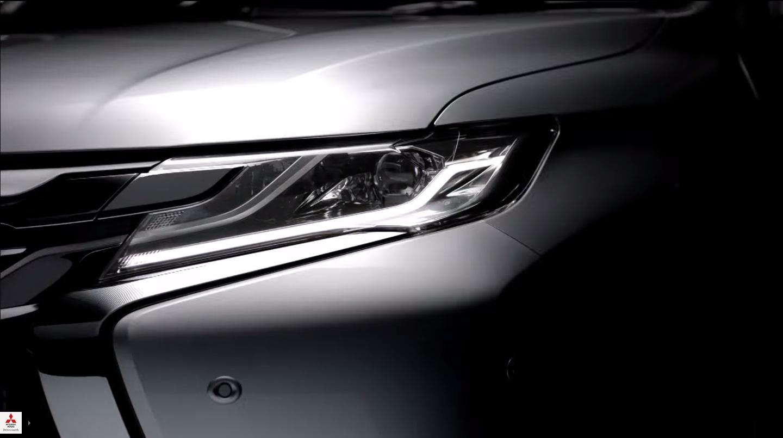 2016-Mitsubishi-Pajero-Sport-LED-DRLs-teased