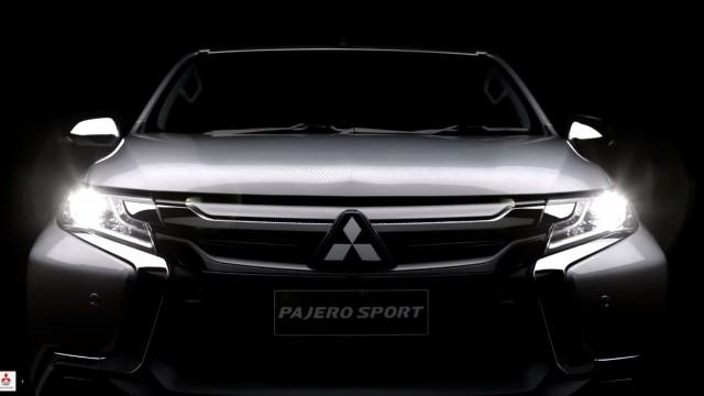 2016-Mitsubishi-Pajero-Sport-front-teased