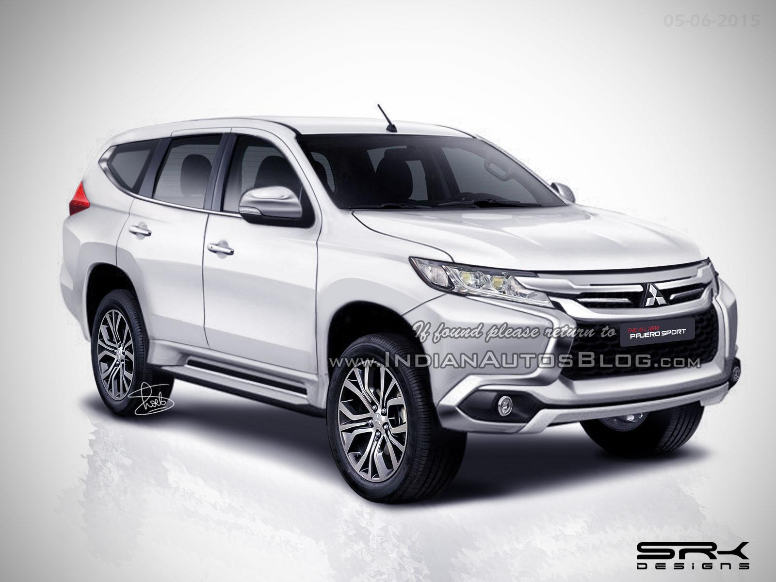 2016-Mitsubishi-Pajero-Sport-rendering