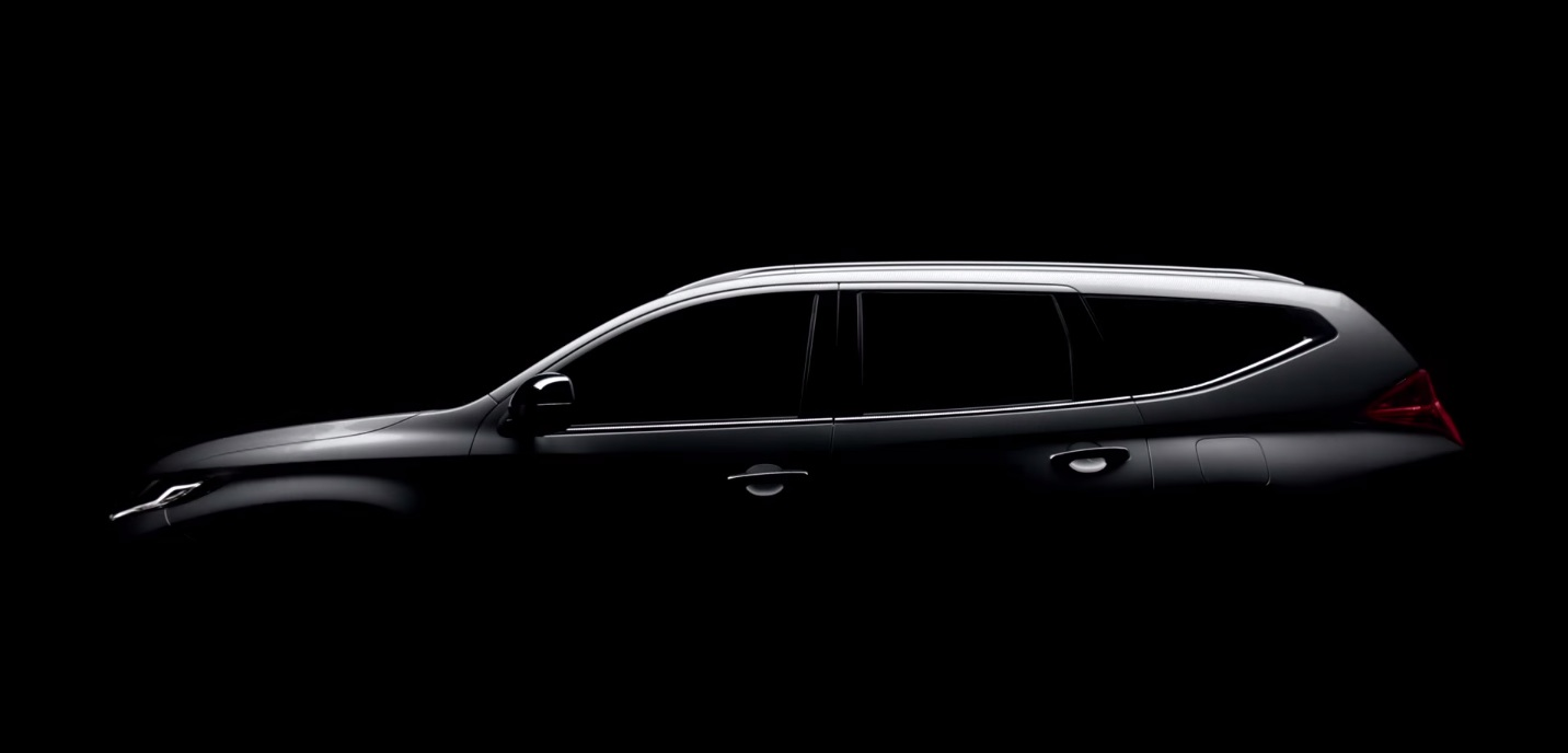2016-Mitsubishi-Pajero-Sport-side-teased