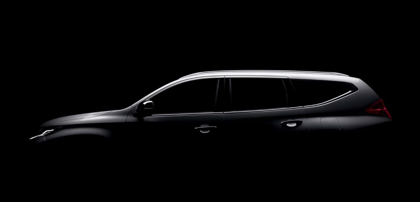 2016-Mitsubishi-Pajero-Sport-side-teased
