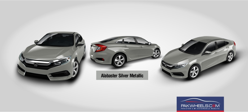 Alabaster Silver Metallic