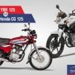 Honda 125 &Yamaha YBR