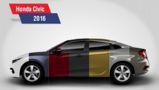 Honda Civic Colors Featured Image 1