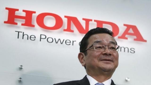 Takahiro Hachigo CEO Honda
