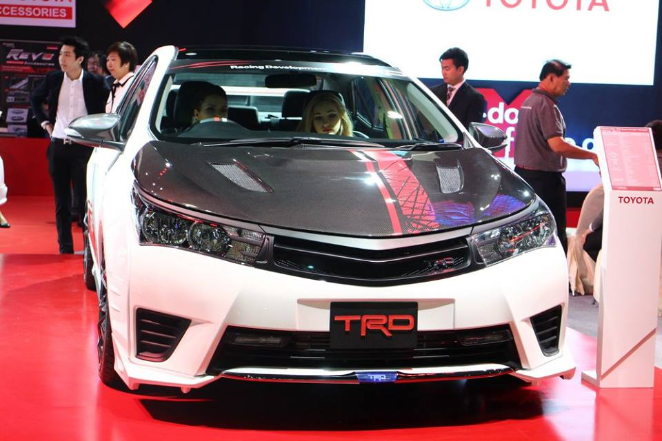 Toyota Corolla Altis TRD Supercharged